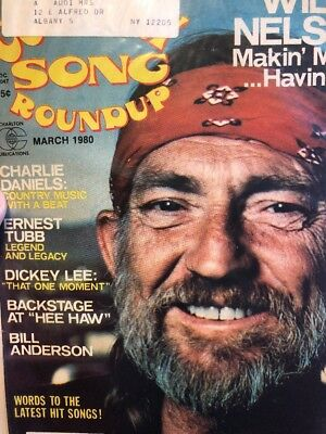 Country Song Roundup March 1980 Willie Nelson