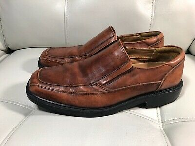 5fd2cd9409548 Dockers Mens Proposal Genuine Leather Business Dress Slip-on Loafer Shoe Sz  9.5M