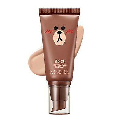 *MISSHA* Line Friends Edition Perfect Cover BB Cream [No.23-Natural Beige] 50ml