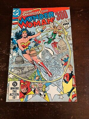 Wonder Woman DC Anniversary Issue - Issue #300 - February 1983