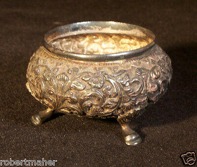Antique French Silver Salt Cellar MAKE ME AN OFFER!!!