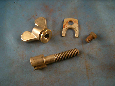 Cutter Bolt, Cutter Bolt Clip and Screw & Wing Nut Stanley No. 45 & No. 55 (DRW1