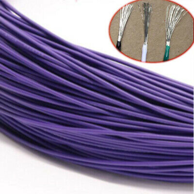 Purple Equipment Wire Electrical Wire Flexible Cable DIY UL1015 12/14/16~24AWG