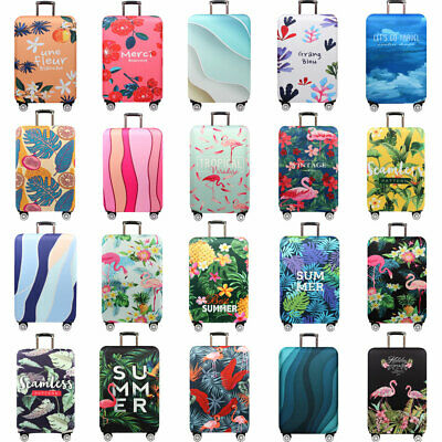 "Thick Travel Elastic Luggage Cover Dustproof 18""-32"" Suitcase Protector S/M/L/XL"