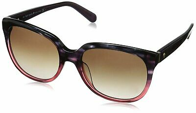 2f781a6780bb3 KATE SPADE BAYLEIGH S Sunglasses Rose to Black Tortoise Fade Brown ...