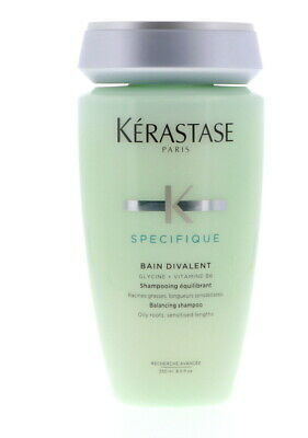 Kerastase Specifique Bain Divalent Shampoo, 8.5 oz Pack of 2