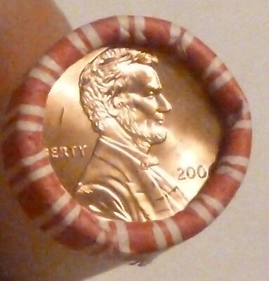 2006P Lincoln Memorial Cent Uncirculated Original Penny Sealed Rolls N.f. String