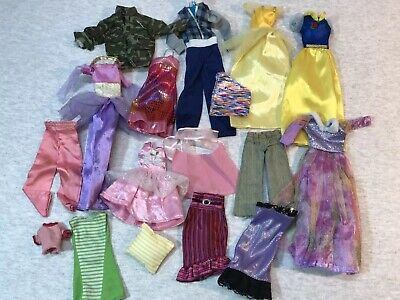 Barbie And Other Doll Clothes 90s Shirts Fashion Clothing Mattel Vtg Lot