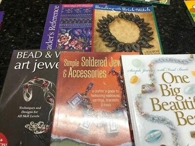 Lot Of 5 Books Of Simple Soldered Jewelry Accessories Crafter's Guide