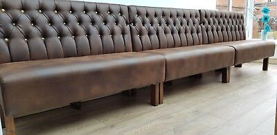 Fixed bench booth  seating Pubs,Clubs restaurants,leisure (£200 per meter)