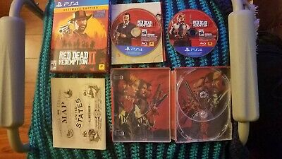 *rare* Ps4 Red Dead Redemption 2 Ultimate Edition Steelbook *no Dlc*