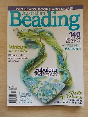 Australian Beading Vol 3 #1~Projects~Jewellery~Vintage~Clay~Birthstones~