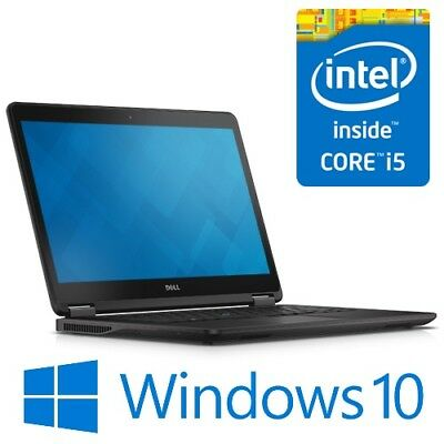 "Dell Latitude E7450 Intel i5 5300U 8G 240GB SSD WiFi 14"" LED Win 10 Pro B Grade"