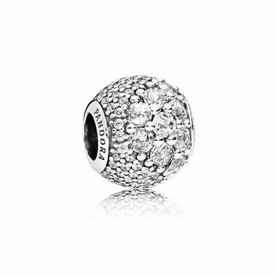 Authentic Sterling Silver Pandora Enchanted Pave Clear CZ 797032CZ Charms 2018
