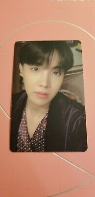 BTS Map of the Soul Persona album version 2 official J-Hope Photocard & Postcard