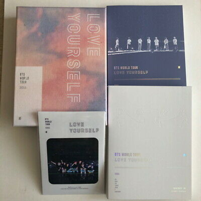 BTS LOVE YOURSELF SEOUL DVD + Photobook + Sticker (NO Poster & NO Photocard)
