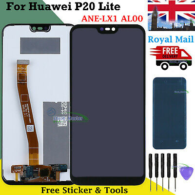 For Huawei P20 Lite ANE-LX1 AL00 LCD Screen Touch Digitizer Display Replacement