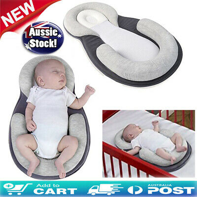 Infant Baby Pillow Stroller Pram Car Seat Liner Cushion Head Body Support Pad AU