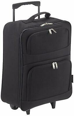 5 Cities Ryanair 55x40x20cm Trolley Folding Cabin Hand Luggage Suitcase Bag