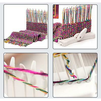 DIY Plastic Hand Knitting Machine Weaving Loom for Scarf Hat Needle Sewing Tool