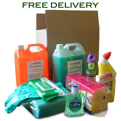 All-In-One Cleaning Kit - Ideal For New Homeowners & Students
