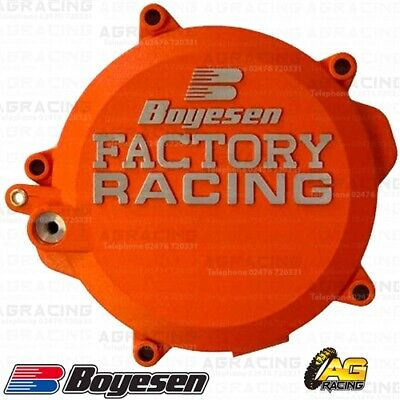 Boyesen Factory Racing Orange Clutch Cover For KTM SX 85 Husqvarna TC 85 18-19