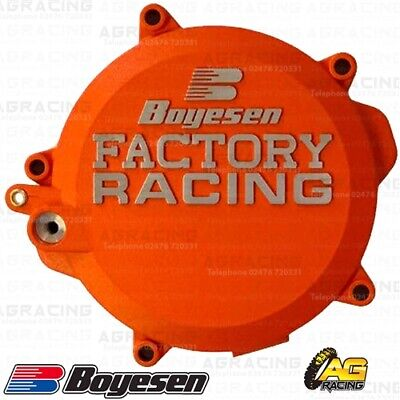 Boyesen Factory Racing Orange Clutch Cover For KTM SX 85 2019