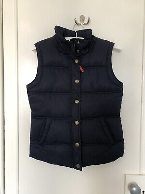 Girls Navy Gilet/body Warmer, Age 13-14, Johnnie B (Boden)