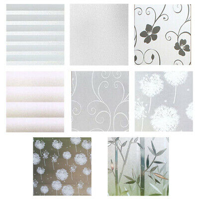 White Frost Privacy Frosted Window Film Matte Opal Etch Tinting Tint Glass