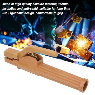 800A Electrode Holder Insulated Copper Welding Clamp for Welding Machine Durable