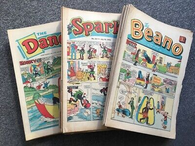 BEANO, DANDY, SPARKY from the 60s - PICK THE ISSUES THAT YOU WANT