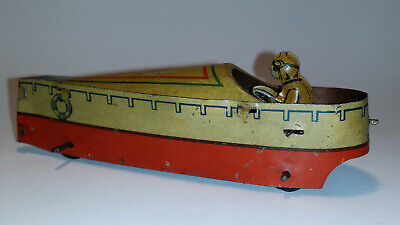 seltenes kleines Rennboot Germany Penny Toy /19-2263