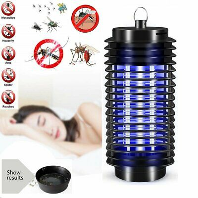 Electric UV Insect Killer Mosquito Fly Pest Bug Zapper Catcher Trap LED Lamp New