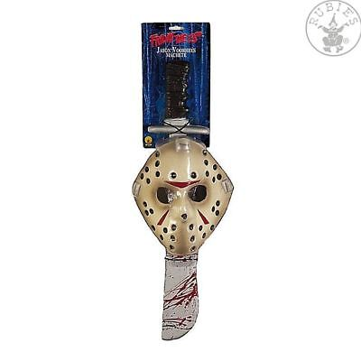 Set Machete / Säbel und Hockey-Maske (Jason Voorhees/ Halloween/ Horror/ Rubies)