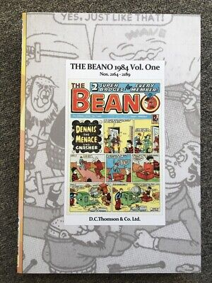 THE BEANO issues 2164 - 2189, the first six months of 1984 IN BOUND VOLUME