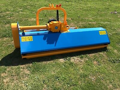 TRACTOR MOUNTED FLAIL mower 1 75m Hydraulic side shift VAT