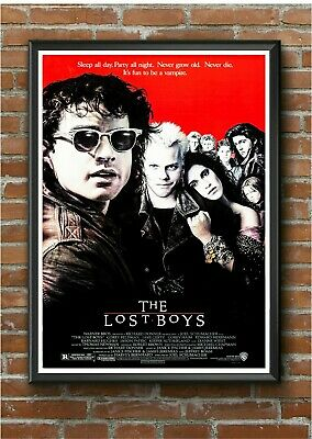 The Lost Boys Classic 1980's Action Movie Film Poster Print Picture A3 A4 A5