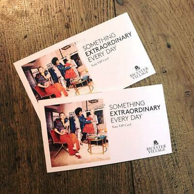 """""""Bicester Village Outlet"""" Invitation -10% Discount VIP Card FAST DELIVERY"""