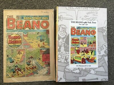 THE BEANO issues 2346 - 2371, the last six months of 1987 IN BOUND VOLUME