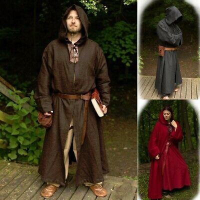 Benedict Monks Robe with Hood for Costume,Stage,Re-enactment & LARP