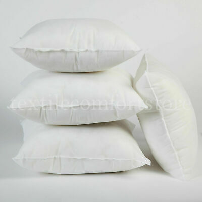 Extra Large Deep Fill 18 Inch Cushion Pads Inserts Fillers Scatters - Pack of 4