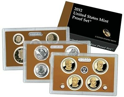 2012-S United States US Mint Proof Set 14 Coins