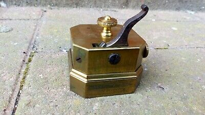Antique, Dated 1848, Scarificator Jetter and Scheerer Bloodletting Tool