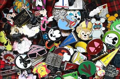 Lot of 25 Disney Trading Pins Mixed Variety All Traded for At WDW Orlando