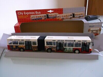 Scalextric City Express Bus 1/32 ,  Trackside Prop or Convert to Slot Car LOOK