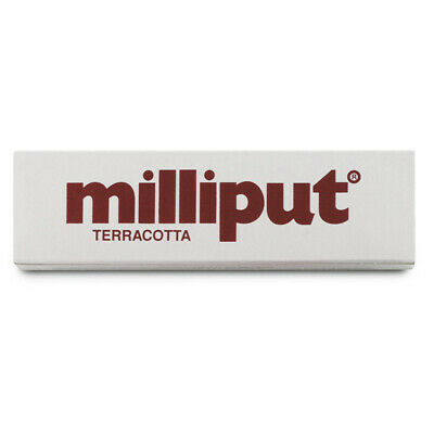 Milliput Colla Terracotta Epossidica Bicomponente Acquario 2 Stick X 56,7 gr