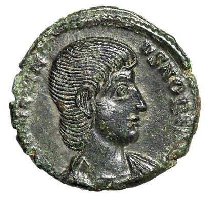"Julian II The Apostate AE15 ""SPES REIPVBLICE"" Thessalonica RIC 216 Scarce EF"