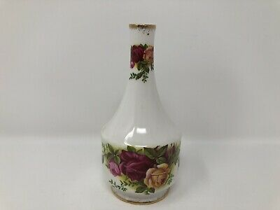 """Royal Albert 'Old Country Roses' 5"""" Ornamental  Vase - 1st Quality"""