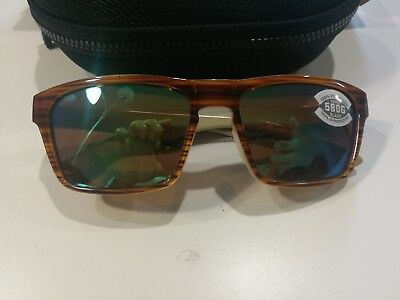 19fd09e622 Costa Del Mar Hinano Polarized Sunglasses Green Glass 580G Lens Hno108  Ogmglp