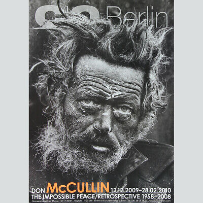 Don McCullin: The Impossible Peace. Plakat 2009, Berlin Galerie CO.